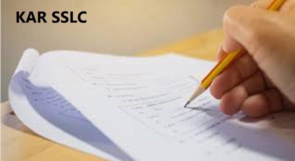 Kar SSLC Model Paper 2020 Blueprint Kannada English Hindi PDF